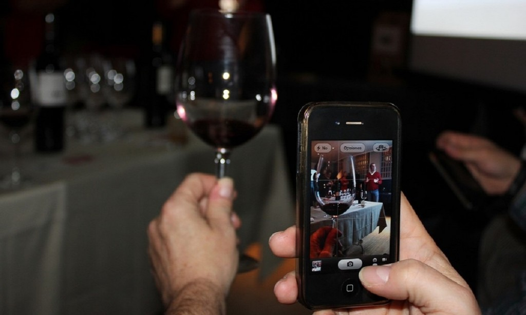 Virtual wine tasting