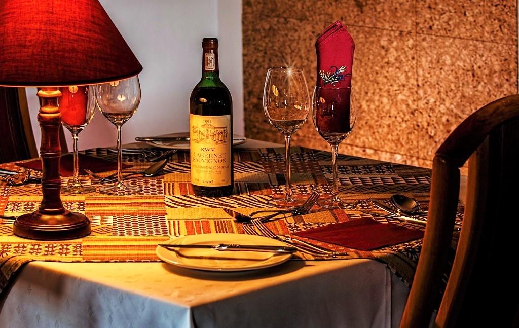 Carta dei vini - bottiglia di vino