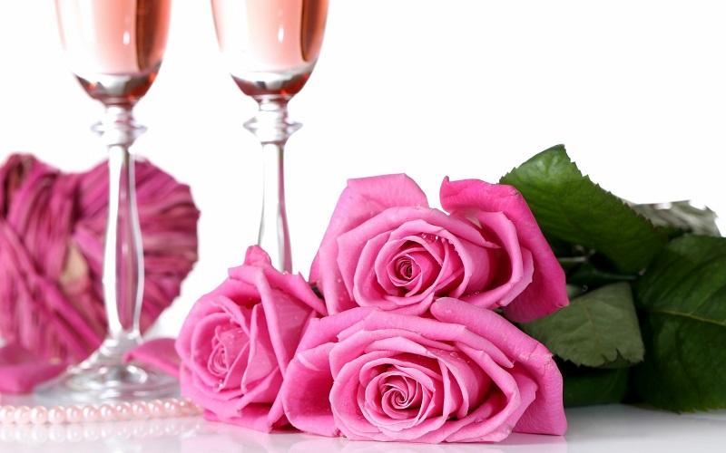 vino spumante rosato