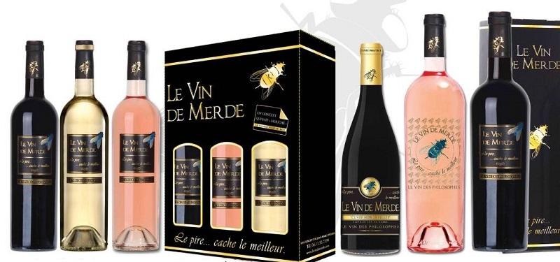 Etichette sotto l'Albero vin de merd