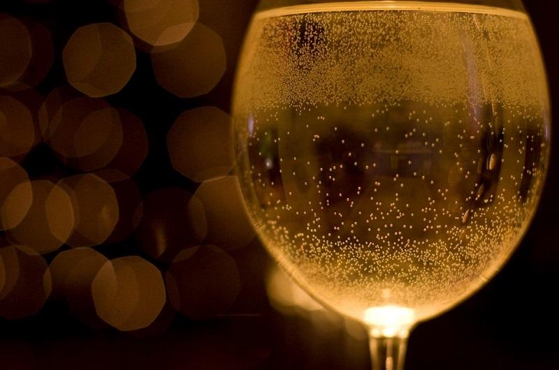 Prosecco Treviso bicchiere-bollicine