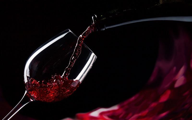 calice perfetto vino rosso