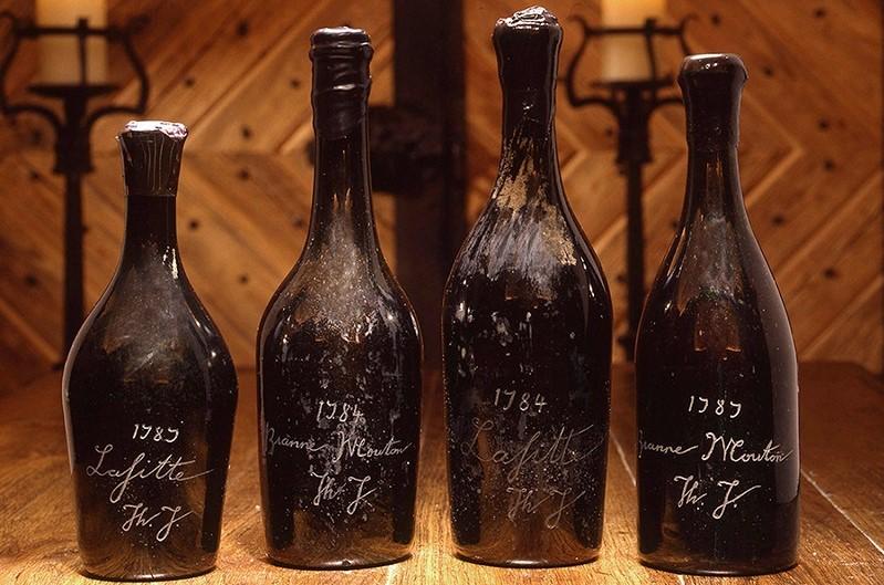 vino contraffatto bottiglie pregiate