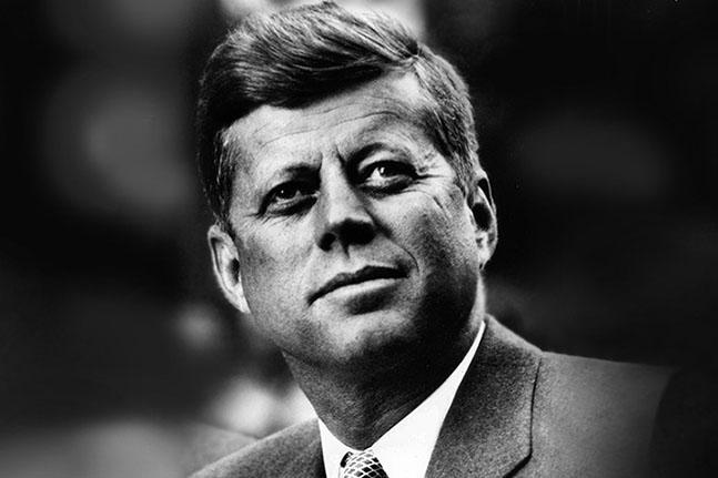 John Fitzgerald Kennedy primo piano