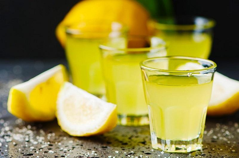 limoncino DiVino  bicchiere