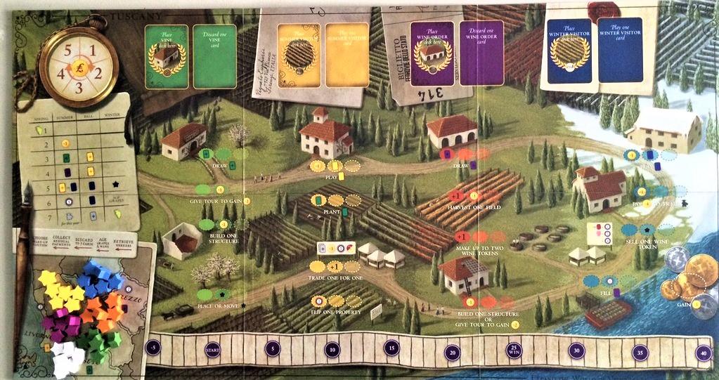 giochi da tavolo tuscany