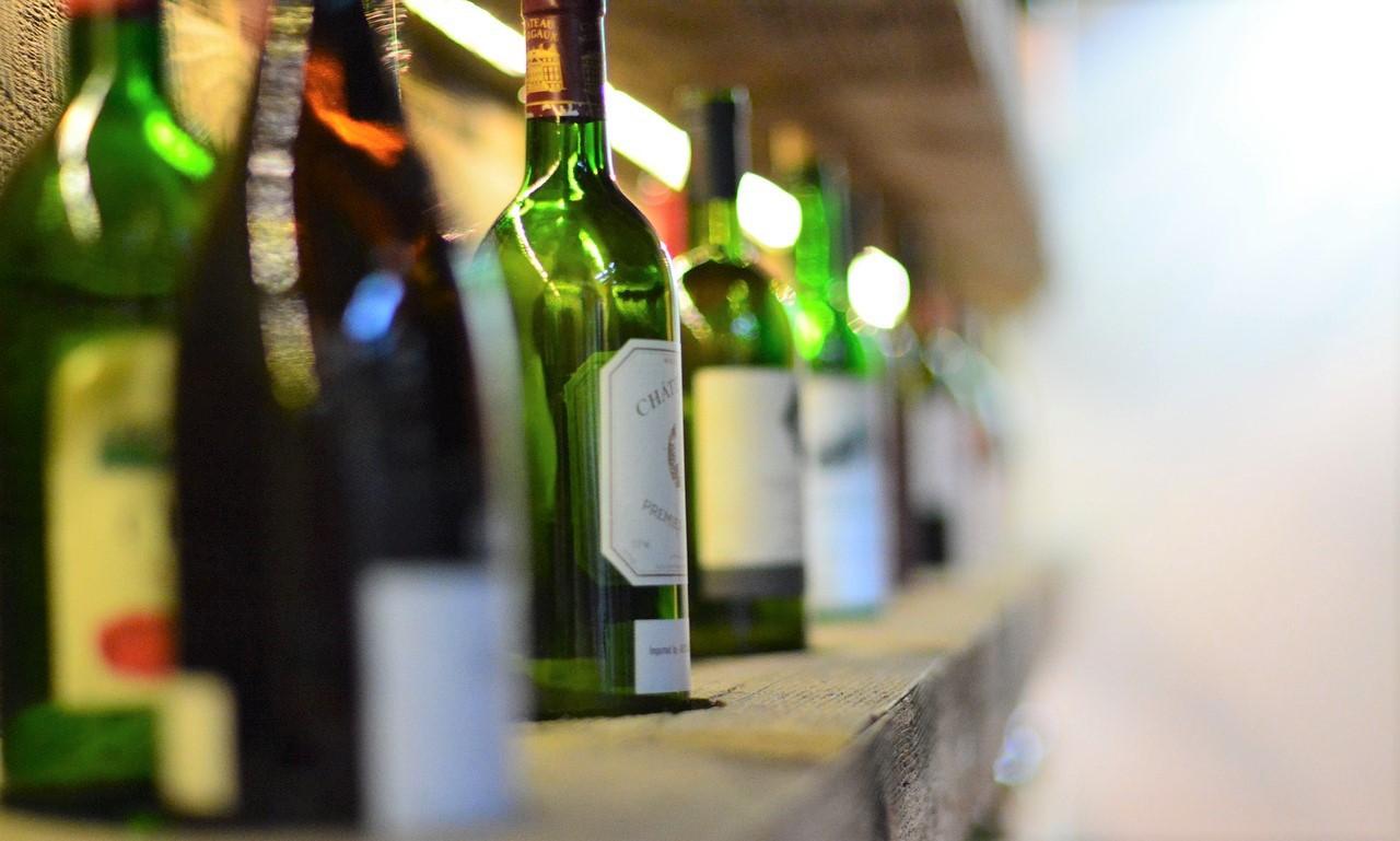 calorie sulle etichette del vino bottiglie
